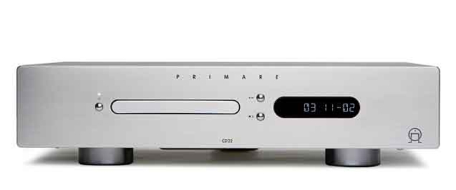 Front view of the Primare Primare CD22