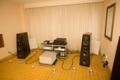 Von Schweikert speakers on Constellation amps