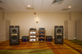 Tannoy Kingdom Royal speakers, VAC and Esoteric