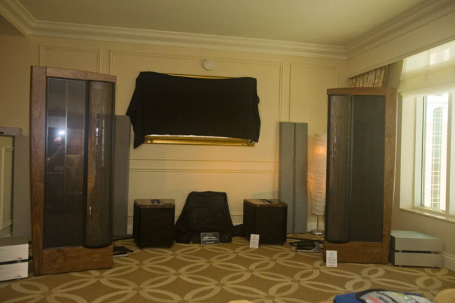 The MartinLogan CLX Art speakers