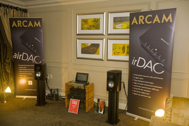 Arcam gear on Canton speakers
